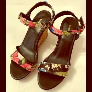 Limelight Wedge Shoes NWOT